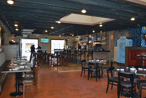 Arepazo restaurant inside