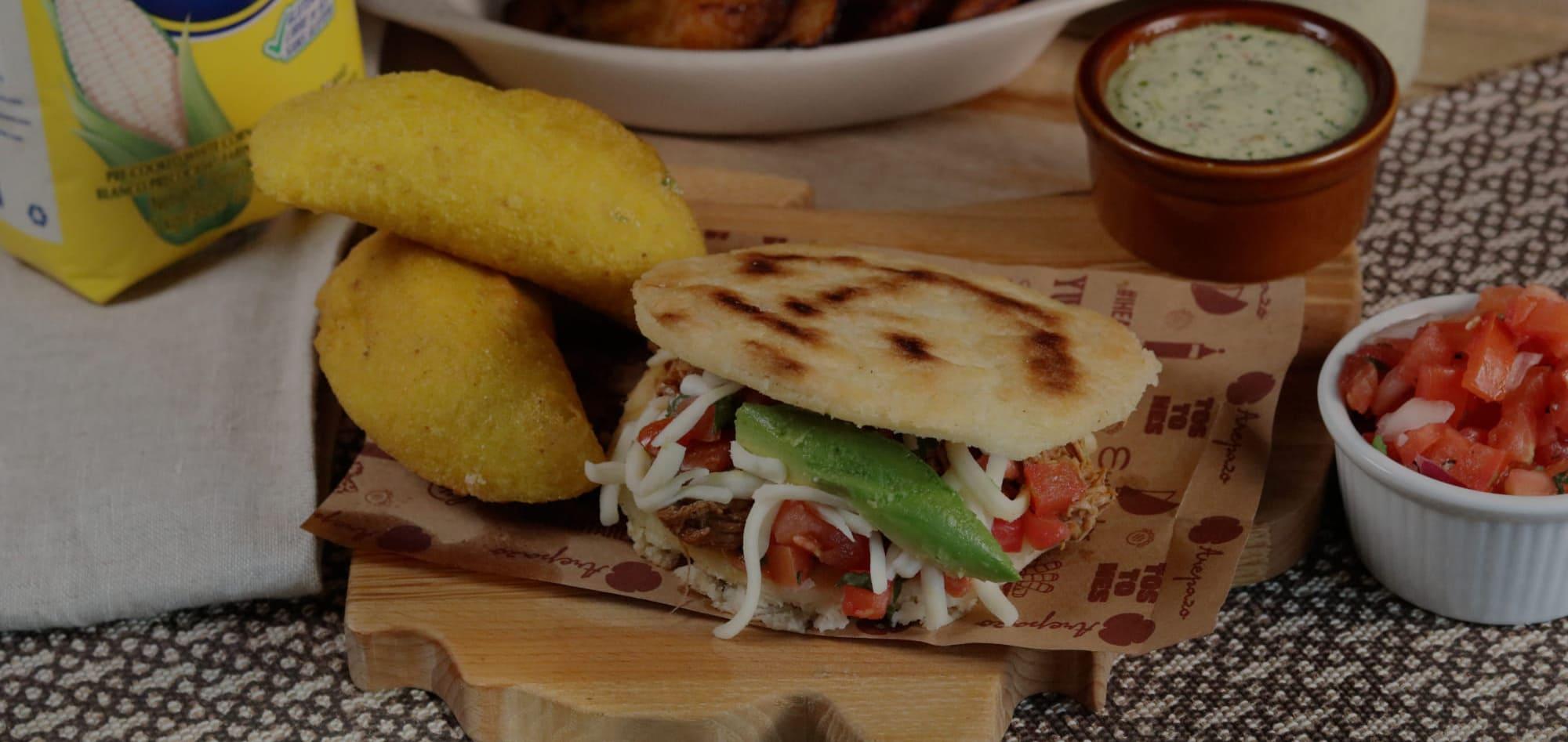 empanadas & Arepas image